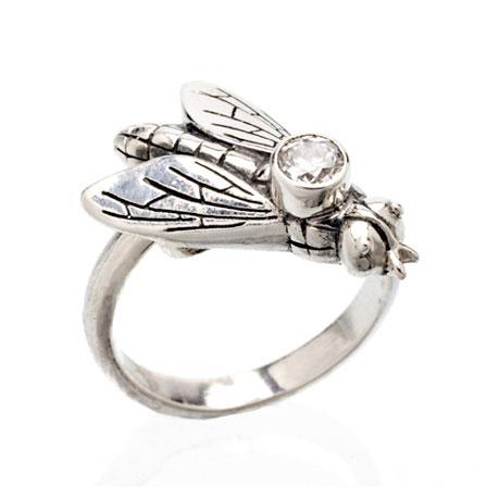 Bi ring silver Anna Örnberg