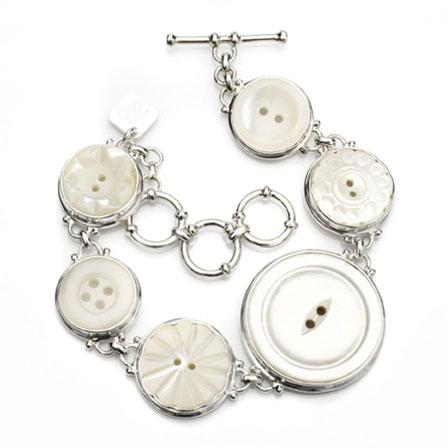 Armband knappar silver Anna Örnberg
