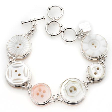 Armband vintage knappar silver Anna Örnberg
