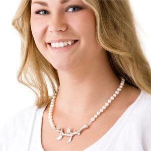 Pärlor halsband Anna Örnberg