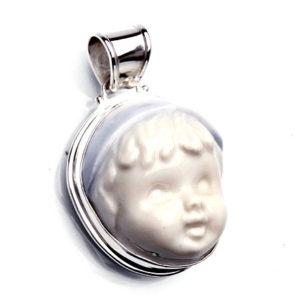 Vintage porslin silver Anna Örnberg